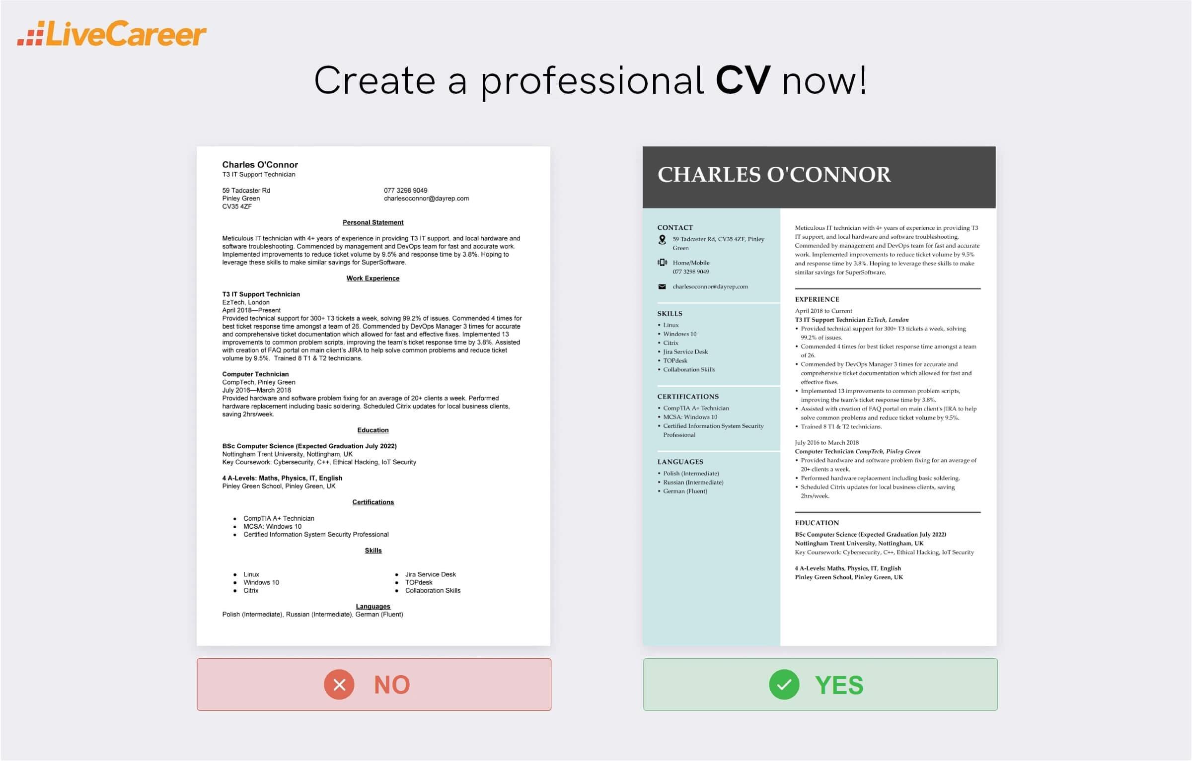 IT CV