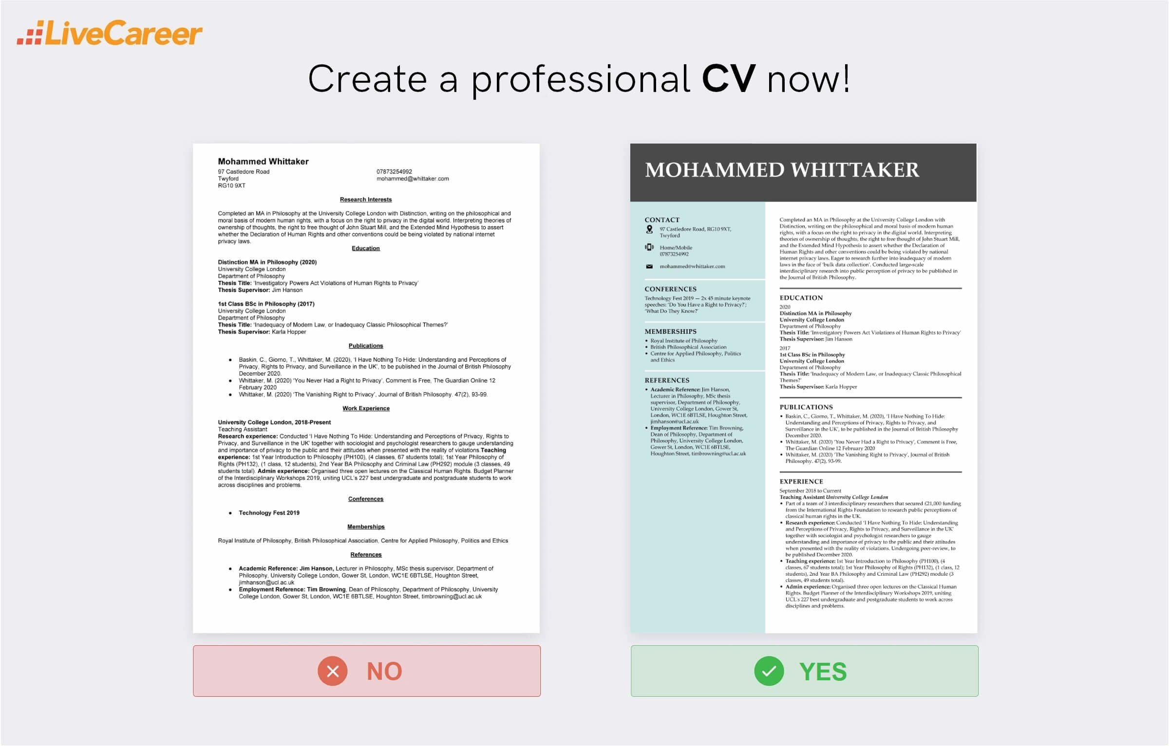 Example of interview paper